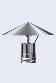 inox regenkap 300-350mm