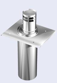 Inox concentrisch Vertikale terminal-150-200