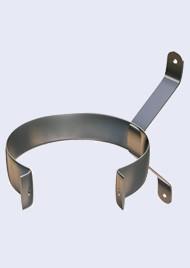 Inox eenvoudige muurbeugel-200