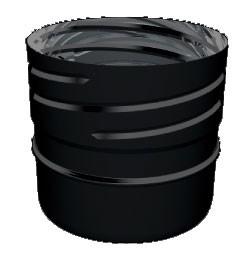 Zwart EW flexible adapter